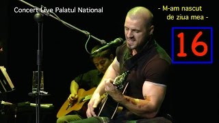 Pavel Stratan - M-am nascut de ziua mea - (Palatul National - concert live)