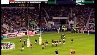 Rugby 1999. Semifinal. South Africa v Australia