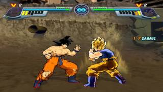 Infinite World (Online) - Goku (Me) vs. Goku (Zocker) - 8 Fights