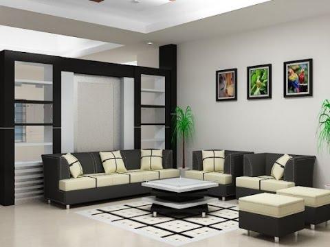 contoh desain interior ruang tamu - youtube
