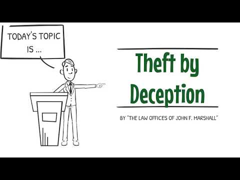 Theft by Deception - Piscataway Criminal Lawyers