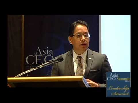 Asia CEO Leadership Summit 2014. MARK LWIN, CEO, AIG Philippines
