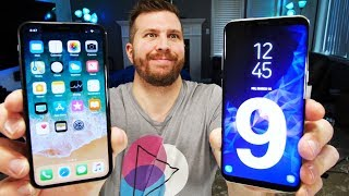 Galaxy S9 vs iPhone X! Which One Should You Buy?