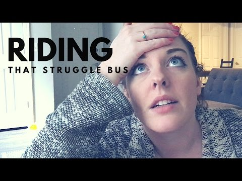 Riding That Struggle Bus | Weight loss Journey Pitfalls