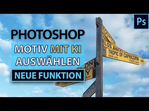 Motive MIT EINEM KLICK Auswählen | Neue Photoshop-Funktion