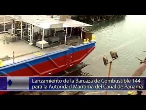 SIMA PERÚ Barcazas para la Autoridad del Canal de Panamáиз YouTube · Длительность: 1 мин