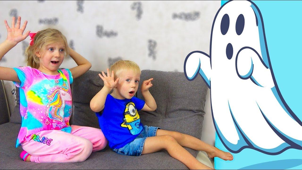 ПАПА ПЕРЕОДЕЛСЯ в ПРИВЕДЕНИЕ? Дети Играют в ПРЯТКИ с ПРИВЕДЕНИЕМ Скетч от Family Box