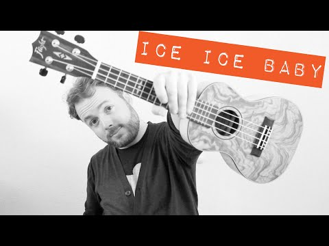 Ice Ice Baby - Vanilla Ice/Marty Ray Project (EASY UKULELE TUTORIAL)!