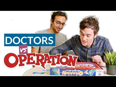 Real Doctors play OPERATION game with Dr Ali Abdaal