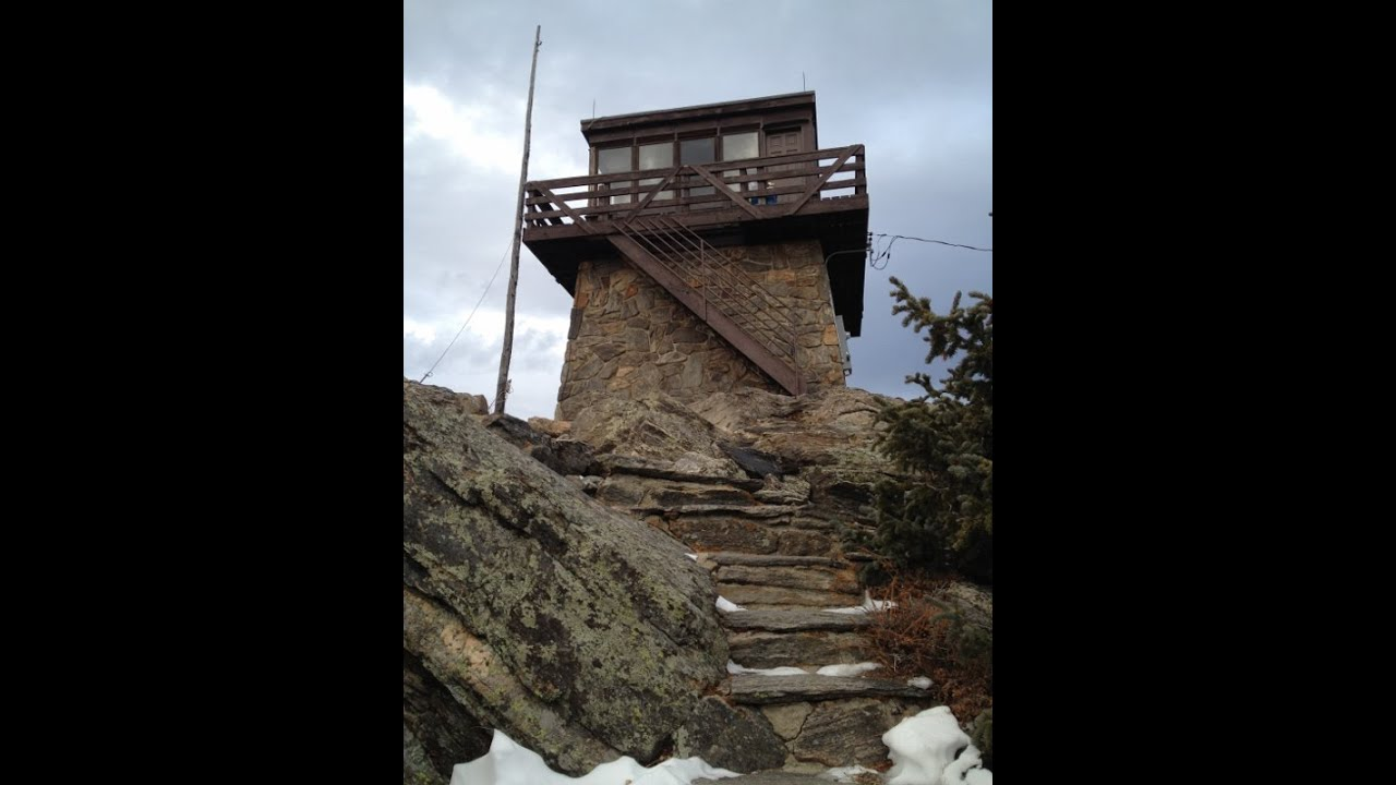 Narrated tour of squaw mountain fire lookout tower for Lookout tower house