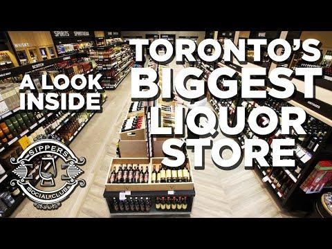 Toronto's Biggest Liquor Store