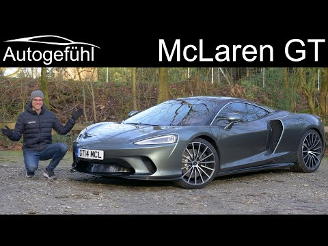 all-new McLaren GT FULL REVIEW with German Autobahn driving – Autogefühl