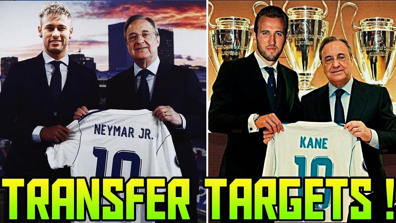 Transfer News (2018) Top 10 REAL MADRID Transfer Targets  4e4bce9243a23