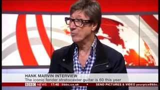 Hank Marvin Interview on the BBC News Channel 30/05/2014