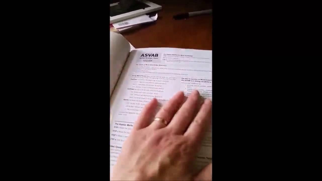 Asvab Test Book