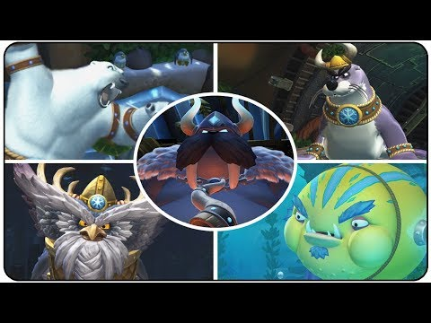 Download Youtube: Donkey Kong Country Tropical Freeze - All Bosses