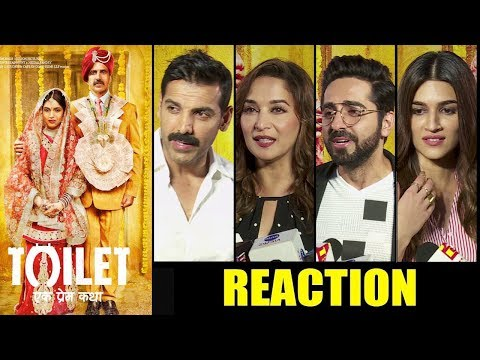 Toilet Ek Prem Katha Movie Review | Bollywood Celebs Reaction | First Day First Show
