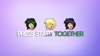 Press Start Together SONG (Lyric Video) | DAGames