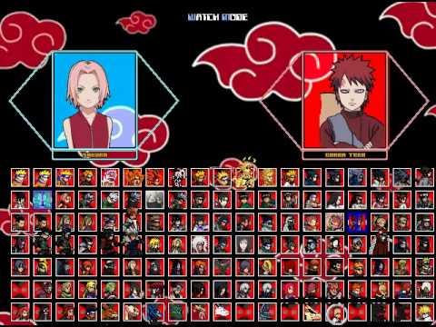 Naruto Shippuden Mugen