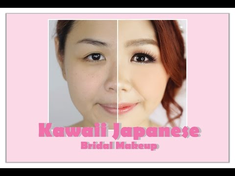 Kawaii Japanese Bridal Makeup