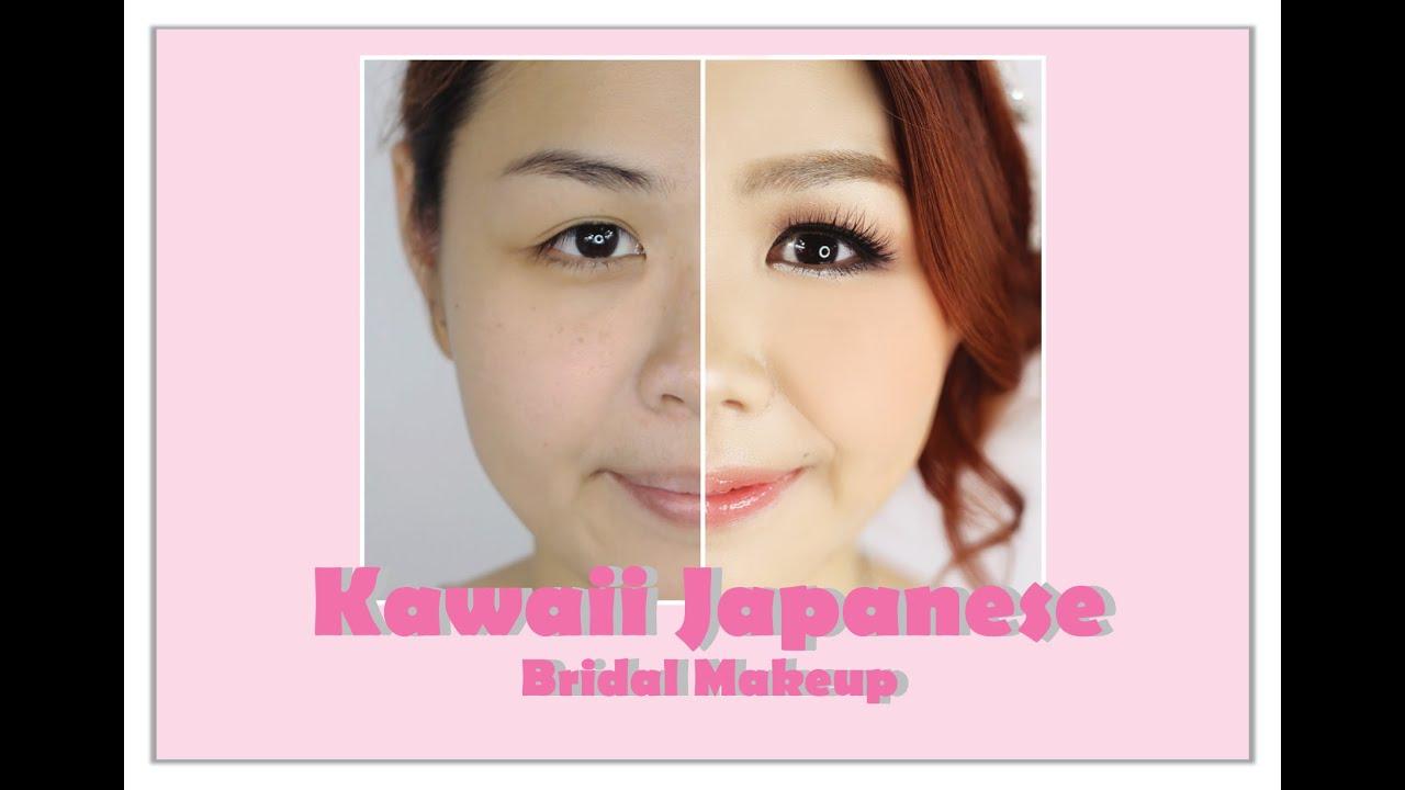 kawaii japanese bridal makeup youtube