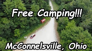 FREE CAMPING at HOOK LAKE AEP ReCreation Campground A - McConnelsville, Ohio - Freecampsites.net