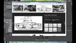 Моделируем вместе в CINEMA 4D. урок первый - танк по чертежу.