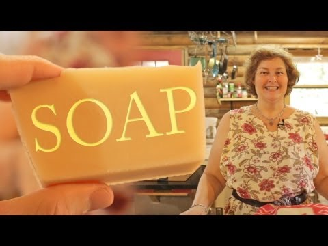 Becky's Homemade Bar Soap Recipe: How to Make Soap with Lye