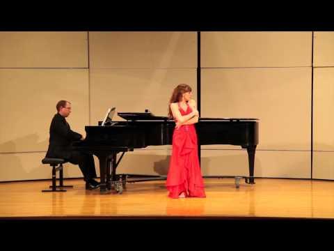 Shaylyn Gibson Senior Recital - Antonin Dvorak