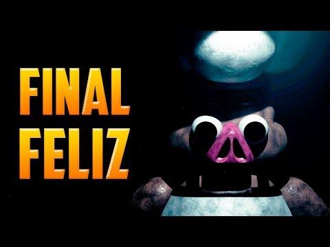 FINAL FELIZ Porkchop's Adventure | como conseguir el Happy Ending | Fnaf fan made