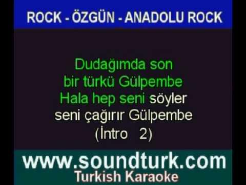 Karaoke Baris Manço -  Gülpembe