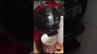 돌체구스토(미니미)로  커피 추출하기
