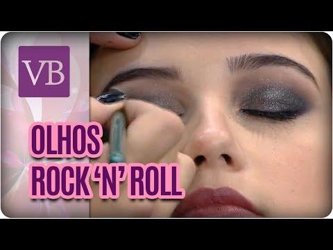 Maquiagem Rock and Roll | Dicas para o Olho Preto - Você Bonita (13/07/17)