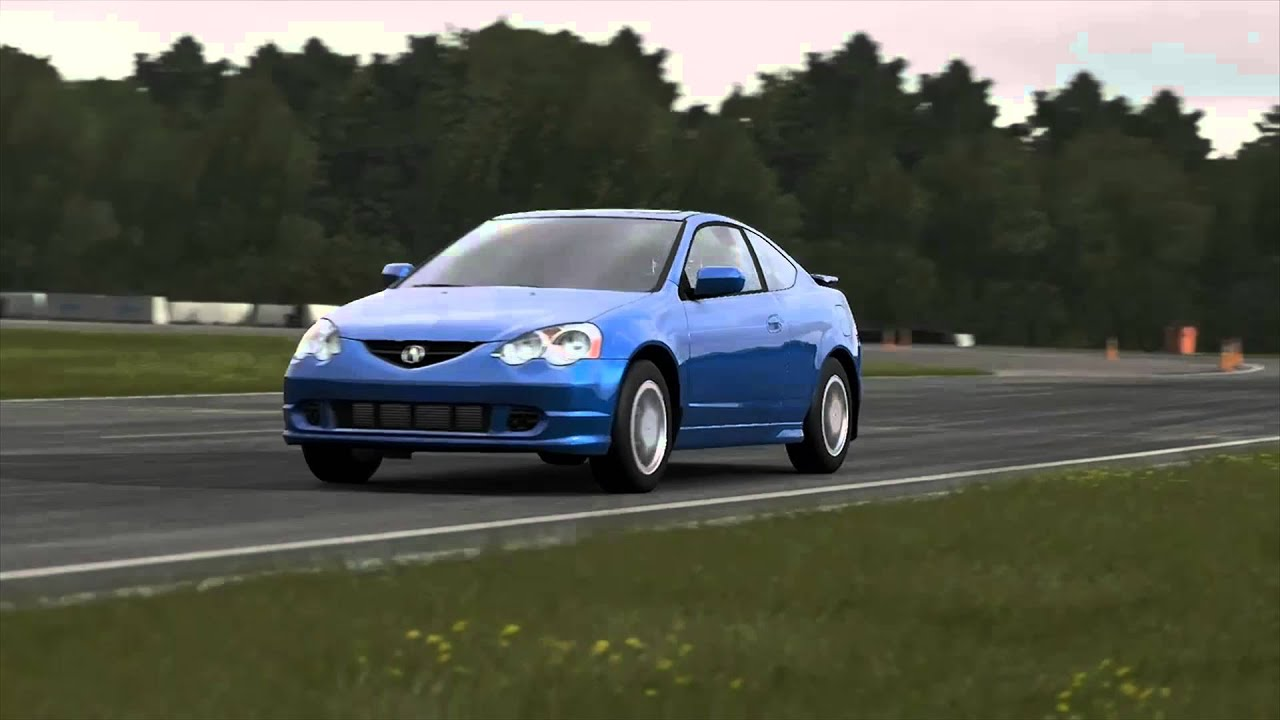 Acura Rsx Top Gear Track