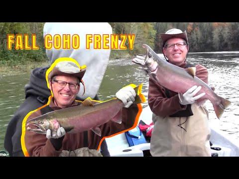Skagit River Fall Coho Salmon Fishing