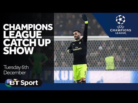 Champions League Catch Up Show   Goals and Highlights   Arsenal  Man City  Celtic  Barcelona New Flash Game
