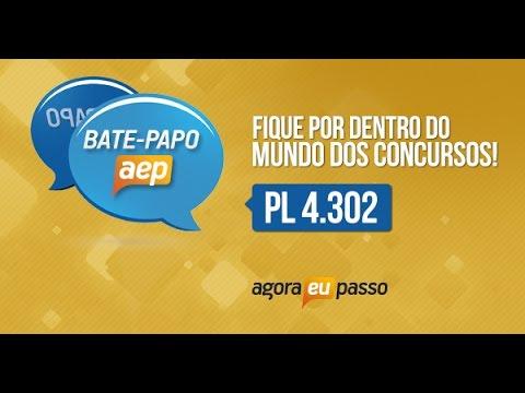 Bate papo AEP - Terceirização do Serviço Público - PL 4302/98