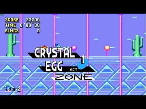 Sonic Mania - Crystal Egg Zone Mod [WIP]