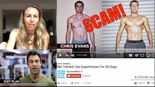 We Trained Like Superheroes for 30 Days Buzzfeed | My reaction.