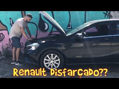 RENAULT COM SÍMBOLO MERCEDES ??? *Mercedes A180*