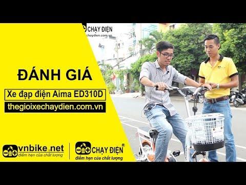 Đánh giá xe đạp điện Aima ED310D