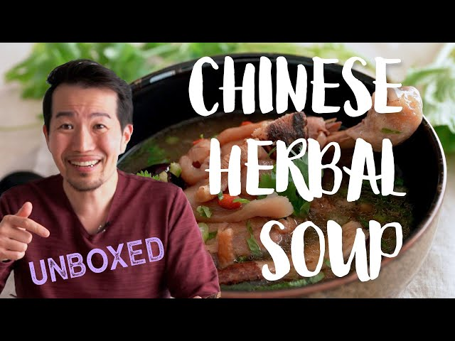 The Best Chinese Herbal Soup Ever?