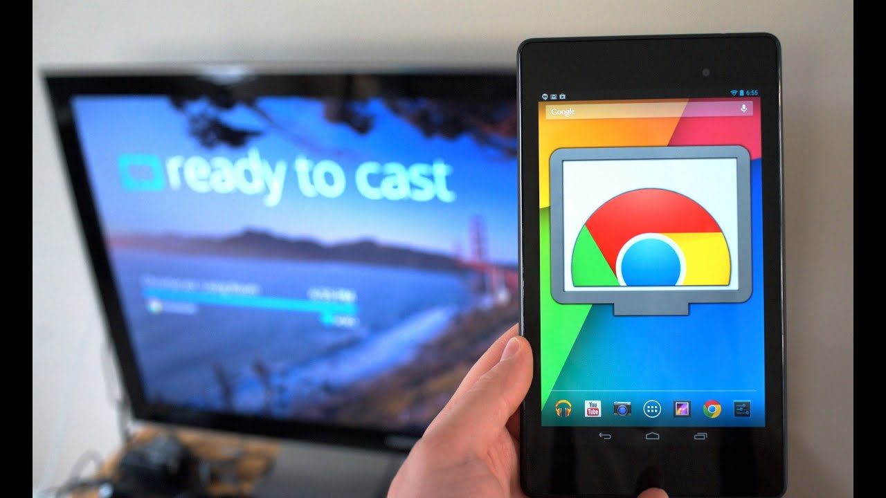 ChromeCast Mirroring From Any Android Device