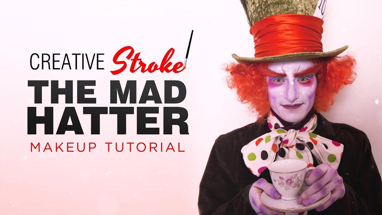 Johnny Depp\'s The Mad Hatter (Alice in Wonderland) Makeup Tutorial ...