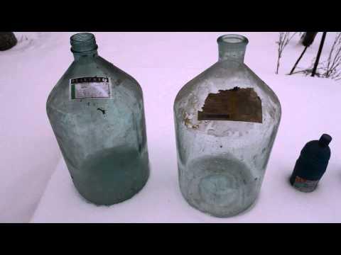 Как вымыть бутыль с узким горлом из под вина