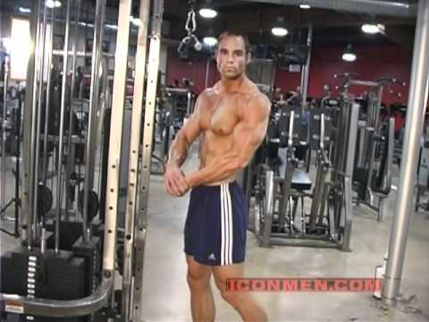 Brian Wade  Tricep Pushdown & Skull Crushers Bodybuilding