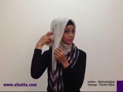 Tutorial Scarf elzatta Hijab