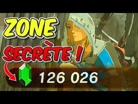 MA SECRET ZONE (100000 RUBIS EN 2H FACILE) DANS ZELDA BREATH OF THE WILD BOTW EXPERT ASTUCE FR #417