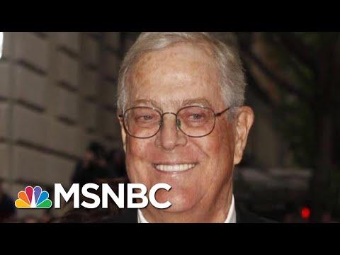 Billionaire Conservative Koch Brother, David Koch, Dies At 79 | Morning Joe | MSNBC