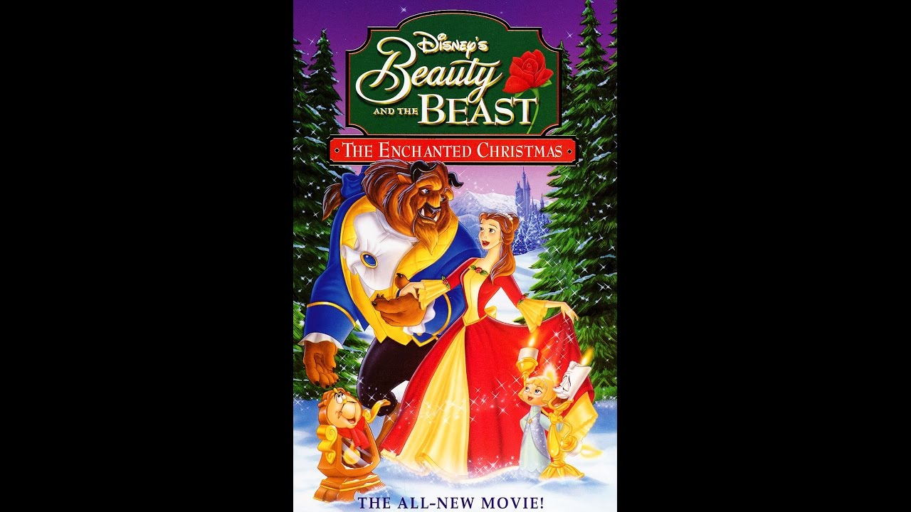 opening to beauty and the beast the enchanted christmas